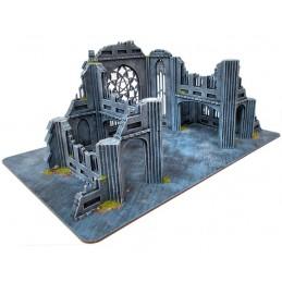 Cathédrale en ruine