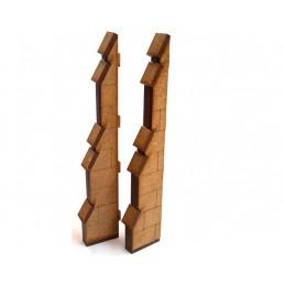 Contreforts double hauteur (2)