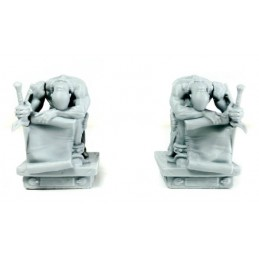Statues d'Atlants (2)