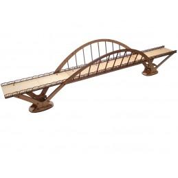 Viaduc/pont de style moderne