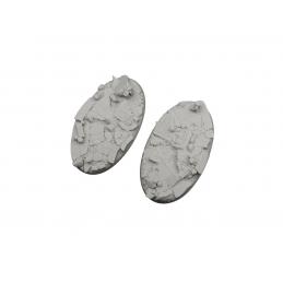 Bases ovales de 90 x 52mm (2)