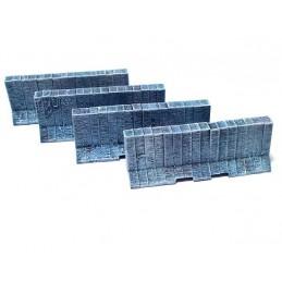 Barrières en béton (4)