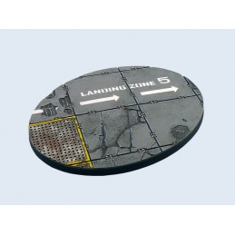 Base ronde de 120mm (ellipse)