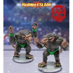 Les Homme-rats (lutteur et...