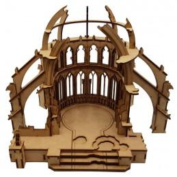 Cœur de cathédrale en ruine
