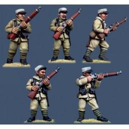 PFR02 Légionnaires avec fusils