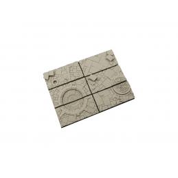 Bases de 25 x 50mm (5)