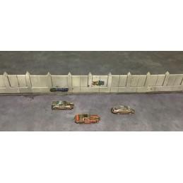 Murs pour circuit/arène