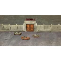 Murs pour circuit/arène...