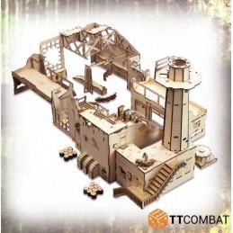 Usine de fabrication de chars
