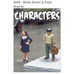 1406 - BETTY BIXLER & POPS...