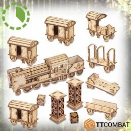 Set locomotive et wagons