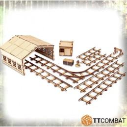 Garage et rails
