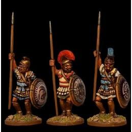 Hoplites mercenaires en armure