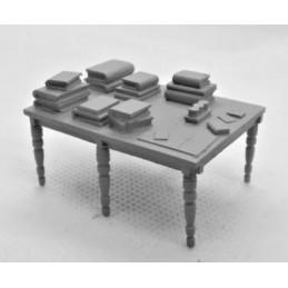 VF06 - Table encombrée