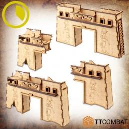 Portes et portiques en ruines