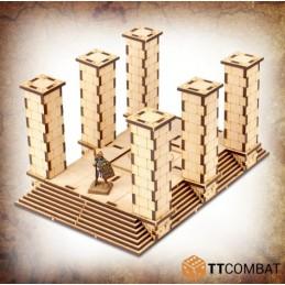 Temple/colonnades