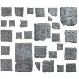 Morceaux de sol antique grec