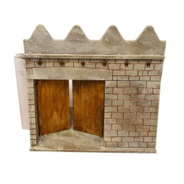 Mur court avec porte