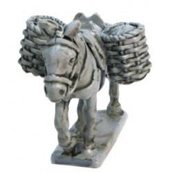 Mule avec paniers