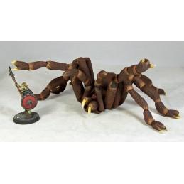 Énorme araignée géante