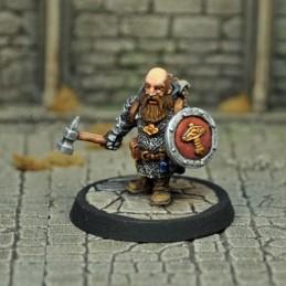 Prêtre-guerrier nain