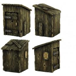 Cabane/toilettes