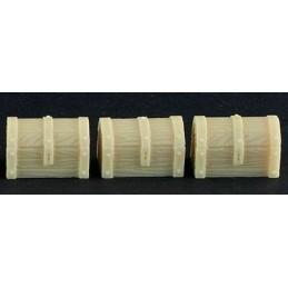 Lot de 3 coffres en bois