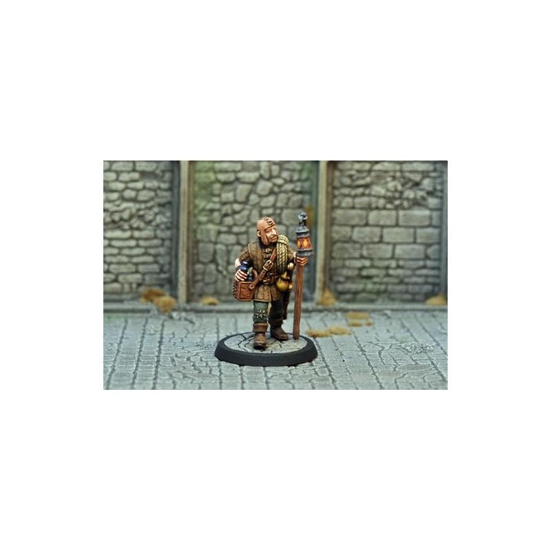 Pilleur de tombe-porteur de lanterne II