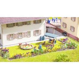 14058 17 fleurs et plantes de jardin