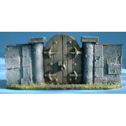 Mur avec porte