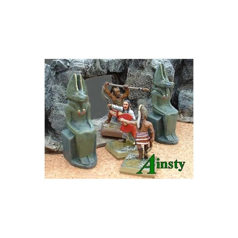 Statues d'Anubis
