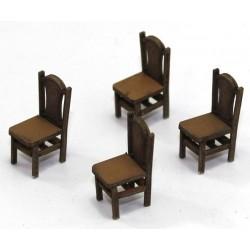 Lot de 4 chaises (C)
