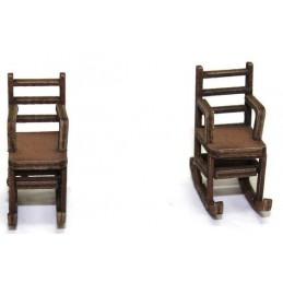 Lot de 2 rocking chair 2