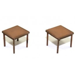Lot de 2 tables (C)