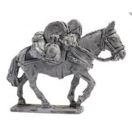 Mule chargée