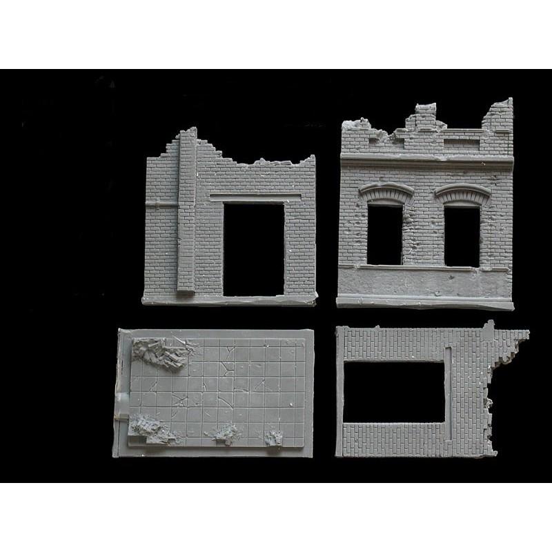 Usine en ruine - bâtiment A
