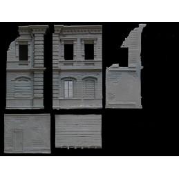 Usine en ruine - bâtiment B