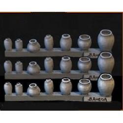 Lot de jarres et de vases antiques