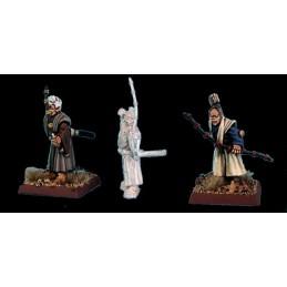 Samouraïs sans armure avec arc