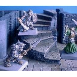 Escaliers en colimaçon (2 niveaux)