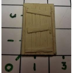 Porte en planche + cadre