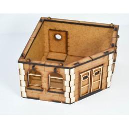 Bâtiment résidentiel en angle