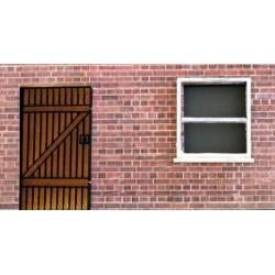 Maisons de ville attachées. Fenêtres option 2
