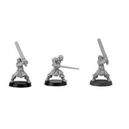 CLT-365 Guerriers avec épées à deux mains
