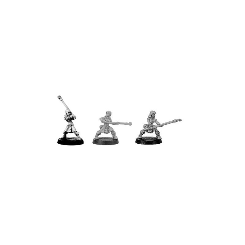 CLT-366 Guerrières avec javelots