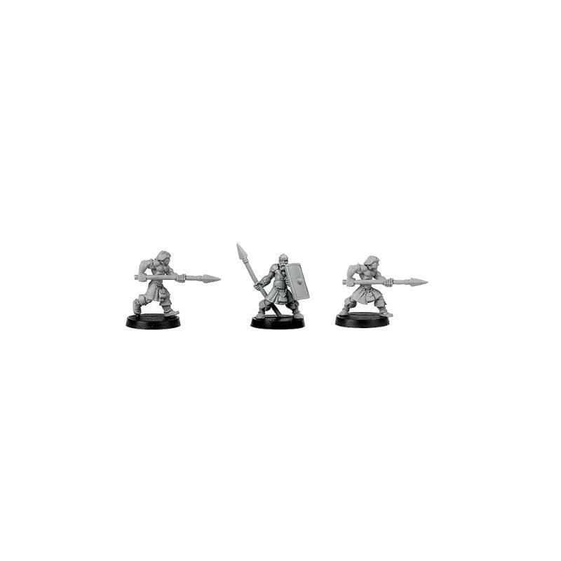 CLT-371 Guerriers avec lances II