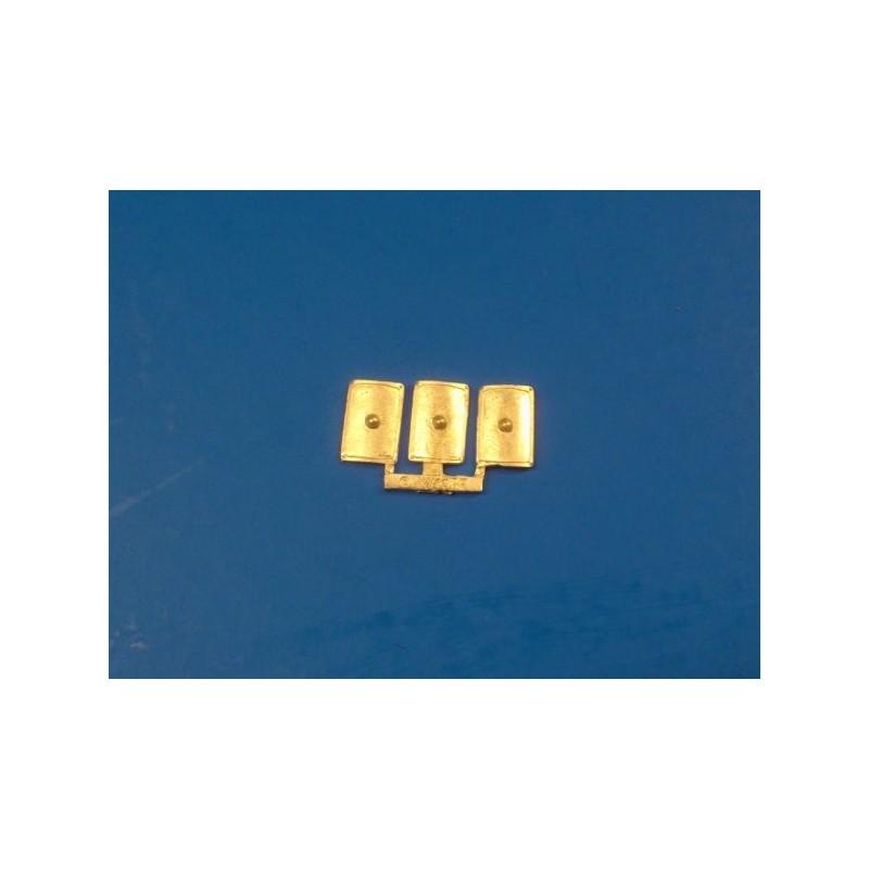 CLT-382 Boucliers rectangulaires II