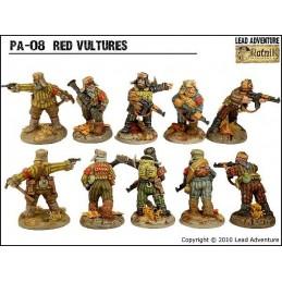 """PA-08 Les """"Vautours"""" rouge"""