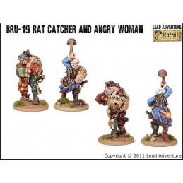 DRU-19 Chasseur de rat et cantinière